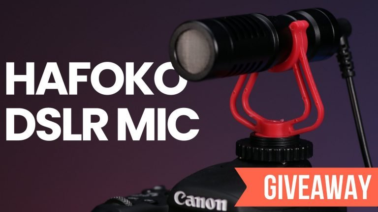 DSLR VIDEO MICROPHONE GIVEAWAY!!